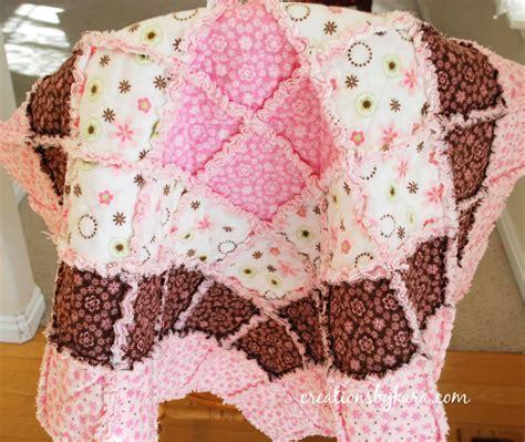 free pattern rag quilt baby rag quilt tutorial