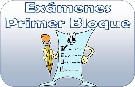 examenes de 1 primaria todos los bimestres especial share the ex 225 menes para el primer bloque de todos los grado de