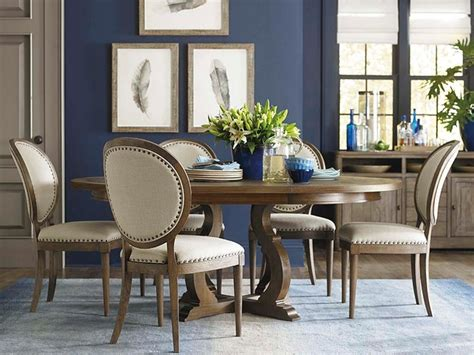 artisanal dining room by bassett furniture contemporary
