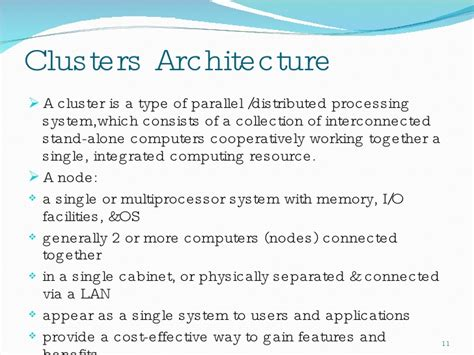 Cabinet Meaning Cluster Computers