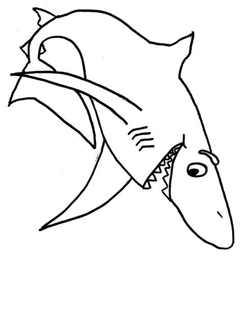Gambar Mewarnai Ikan Laut - Gambar Mewarnai Gratis
