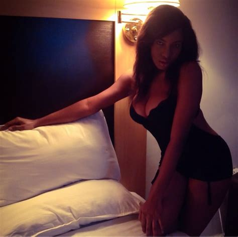hot girls in bed wow chika ike shares sexy bedroom pic this is miss
