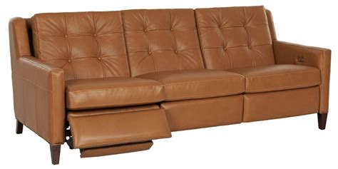 mid century reclining sofa lowry mid century modern reclining sofa collection