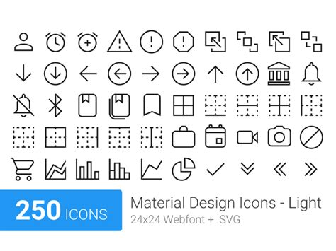material design icon names material design icons light uplabs