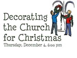 decorate church for christmas youth group