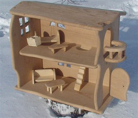 wood doll house handmade wooden dollhouse wooden