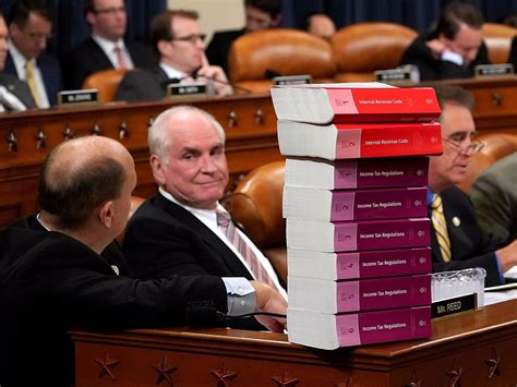 the cheap tax book for the gop tax a bunch of things that everyone should about the new books the fireworks in the tax reform hearing came after