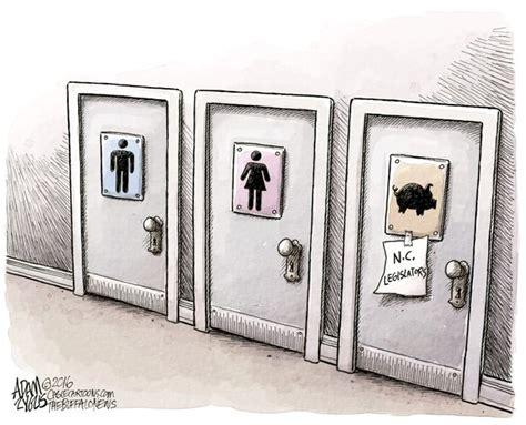 the bathroom bill politicalcartoons