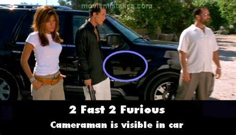 fast and furious bloopers 2 fast 2 furious 2003 movie mistake picture id 32899