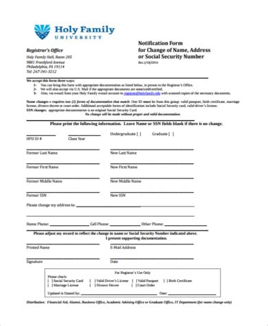 Call The Social Security Office by Sle Social Security Name Change Form 8 Free