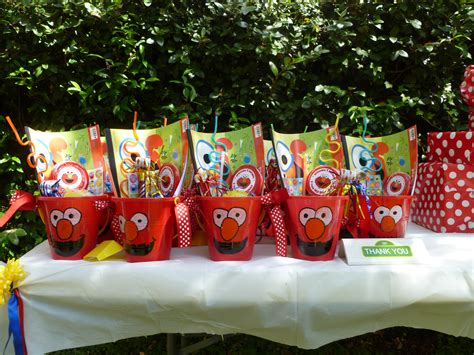 elmo birthday favors image inspiration of cake and