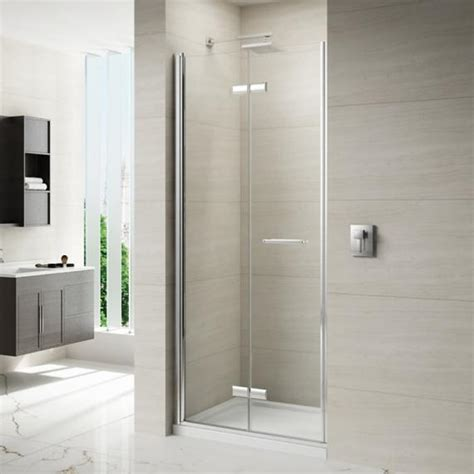 Shower Folding Door Merlyn 8 Series Frameless Hinged Bifold Shower Door Sanctuary Bathrooms