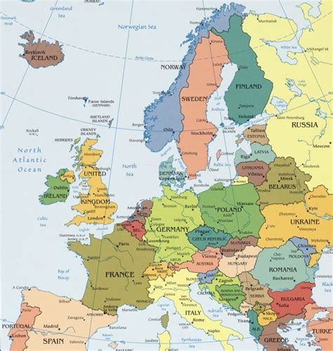 map eastern europe eastern europe map countries