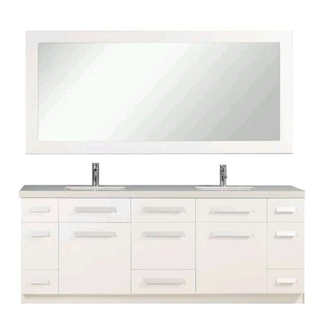 design elements moscony design element moscony 84 in w x 22 in d double vanity