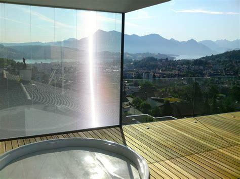 Balkon Sicht Und Windschutz by B 252 Hlmann Metallbau Ag Littau Ihr Partner F 252 R