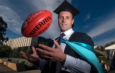 Monash Mba Duration by Kicking Goals In The Community Hawks Player Brad Sewell