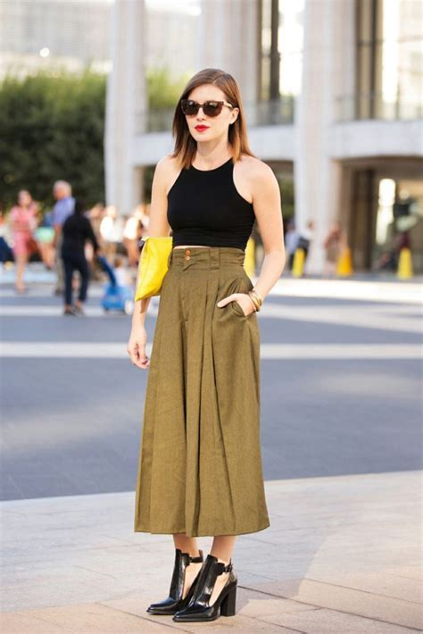 Culottes Crop Top Outfit Ideas Outfit Ideas Hq Top Ideas