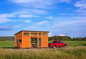 Small Home Builders Wi This Tiny Home On A Trailer Is Styled After