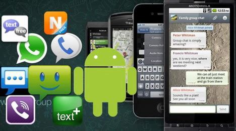 free text messaging apps for android 5 top messaging and chats android apps techora