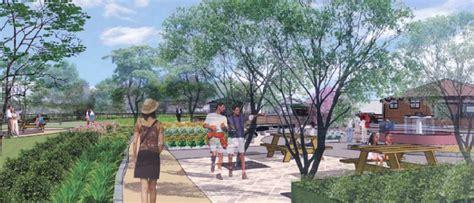 Landscape Architecture Tamu Land Students Design West Cus Greenway Master Plan