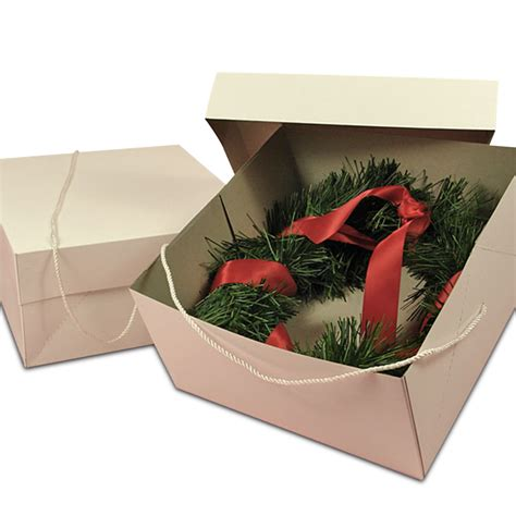 christmas wreath storage boxes
