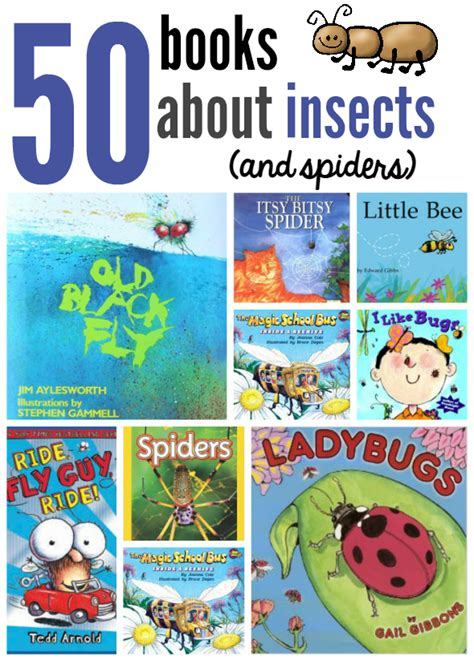 story book themes for preschool books about insects and spiders the measured mom