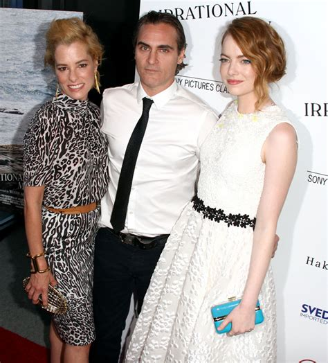 emma stone joaquin phoenix photo de emma stone l homme irrationnel photo