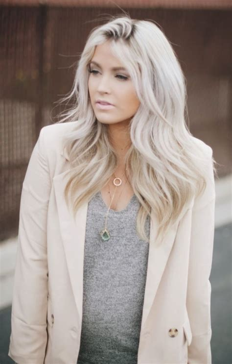 turning gray hair into blond 45 natural grey hairstyles for women of every age