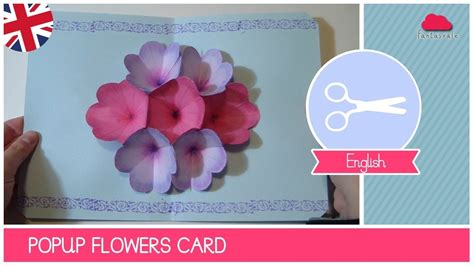 fiy mothers day pop up card template diy flower mothers day cards larissanaestrada