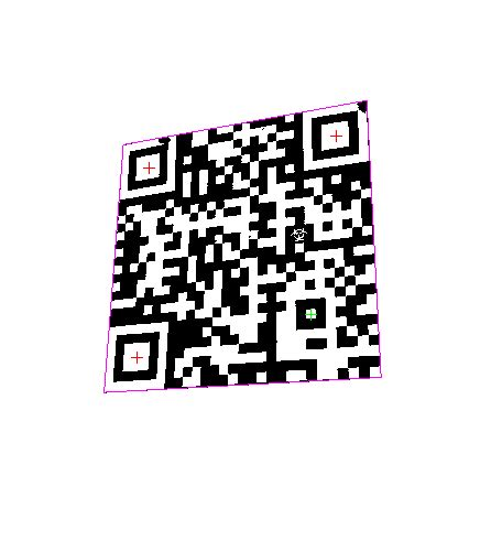 pattern recognition qr code geometry recognition qr code detector