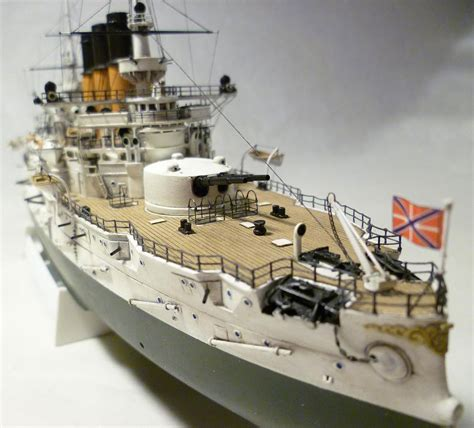 Handcrafted Model Ships - model battleship retvizan in scale 1 350 model kits