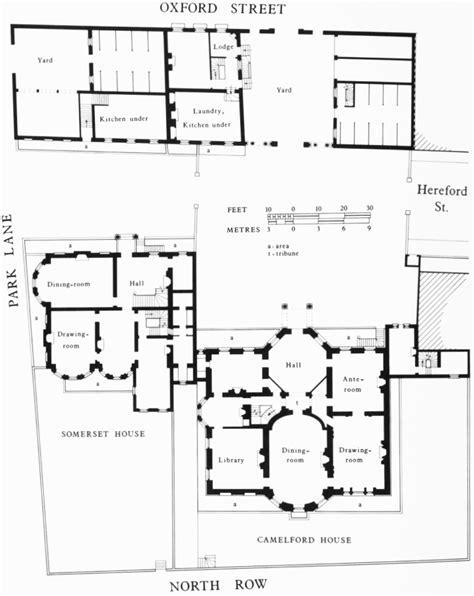 somerset floor plan camelford and somerset houses demolished ground floor