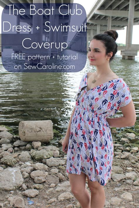 cover up pattern free ten stylish swimsuit cover up tutorials for ladies
