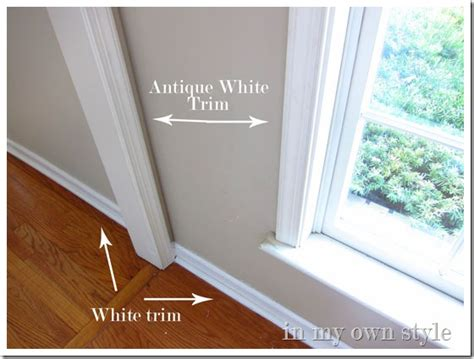 best white paint color for trim and doors diy window trim painting tricks in my own style