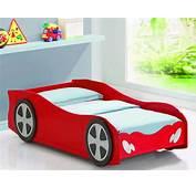 غرفة نوم شكل سيارة حمراء  المرسال