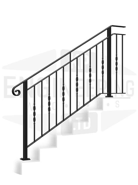 FOREST GATE Terrace Stair Balustrade [TS17] | KP Engineering