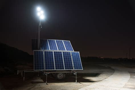 light tower rental prices solar light rental cost savings reliability with