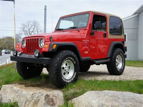 Jeep Tj 98 98 Jeep Wrangler Sport Cape Cod Used Cars New