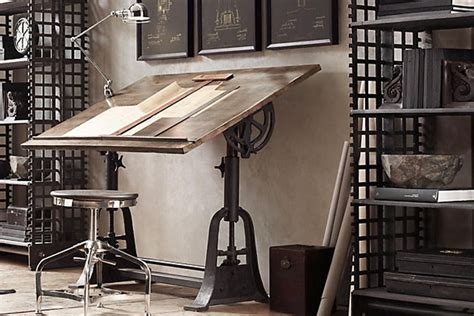 vintage industrial style office furniture