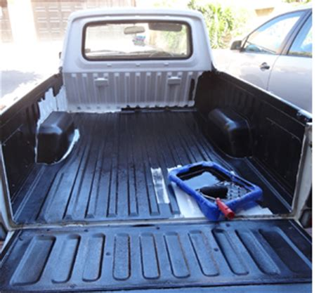 rust oleum truck bed liner home dzine lifestyle rust oleum bakkie or truck bed liner