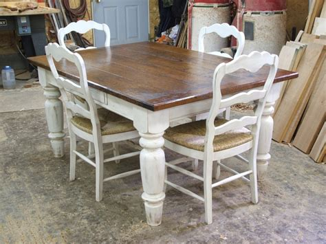 farmhouse kitchen table with drawers white and timber dining table dining room drawers and timber dining table
