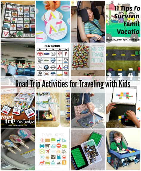 road trip with road trip activities traveling with the idea room