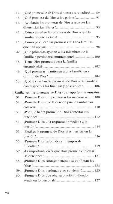 100 respuestas a 100 preguntas acerca de las promesas de