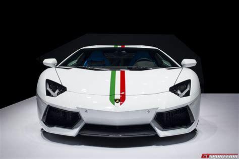 Lamborghini Italian Official 2014 Lamborghini Aventador Nazionale Gtspirit