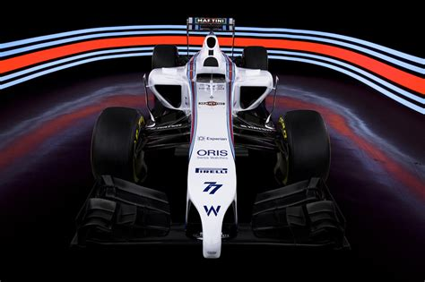martini livery f1 martini returns to formula one with williams autoevolution