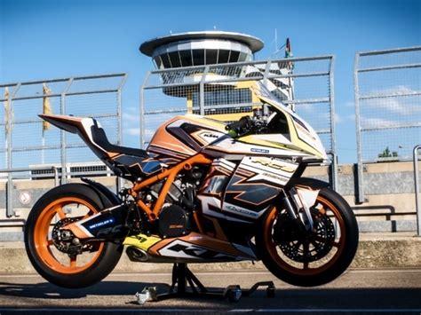 Rc Motorrad Anf Nger by 4moto De Folierung Einer Ktm Rc8r