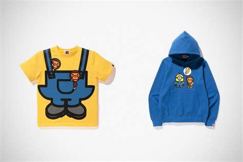 Hoodie Anak Minions Banana bape x minions apparels cos grown deserve minions hoodies mikeshouts