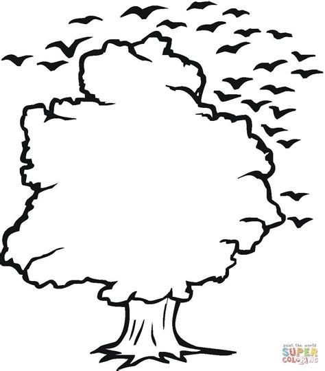 301 Moved Permanently Tree Coloring Page Outline