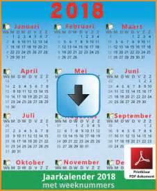 Kalender 2018 Belgie Met Feestdagen Kalenders 2018 Gratis Downloaden En Printen Feestdagen