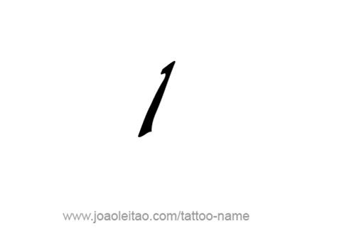 number 1 tattoo designs one 1 number designs tattoos with names